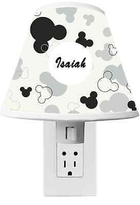 Mickey Mouse Clubhouse Night light Room Decor - CUSTOM NAME