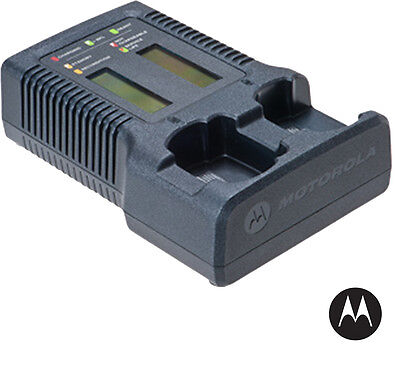 Motorola - Nntn7593 - Impress 2,  Dual Unit Charger - For Apx Portable Radios