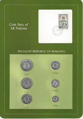 Coin Sets of All Nations, Romania