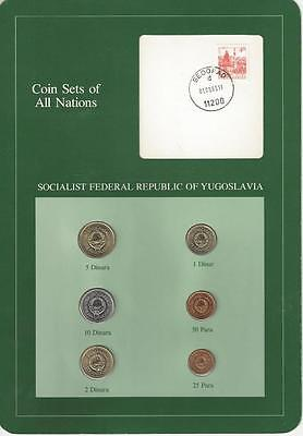 Coin Sets of All Nations - Yugoslavia