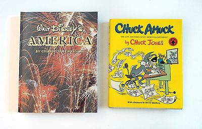Walt Disney's America & Chuck Amuck by Chuck Jones (Warner Brothers / Animation)