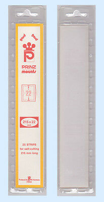 Prinz Mounts - #22 Clear X  215Mm               Free Shipping       #psm-22C