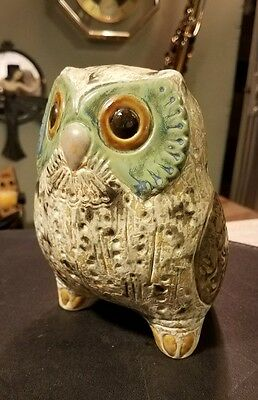 """Gorgeous Rare Lladro Large Owl Bird Figurine Made In Spain 6"""" Tall Ballester"""