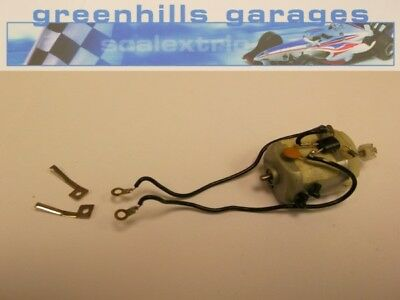 Greenhills Scalextric Toyota TF 102 Engine, Wiring, Screws, Guide Blade Conne...