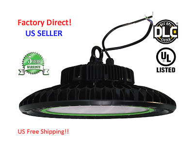 UFO 200W  LED High Bay  5000K, 26500LM UL, DLC Dimmable US SELLER!!