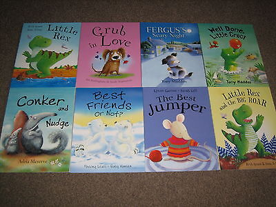 Bundle/collection Of 8 Wonderful Children's Story Paperback Books - Age 4+