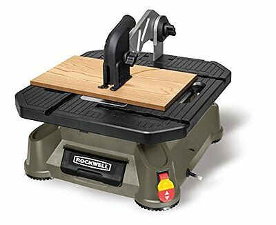 Rockwell BladeRunner X2 Portable Tabletop Saw with Steel Rip Fence, Miter Gauge,