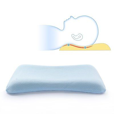 Soft Memory Foam Baby Pillow for Newborn Sleeping Prevent Flat Head and Neck for