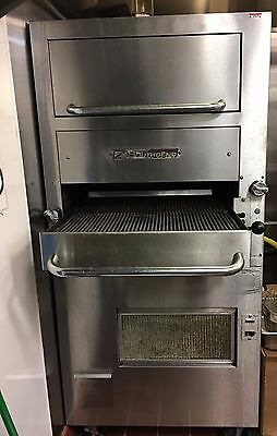 Southbend Gas Upright Infrared Broiler with Warming Oven Model 171D-4