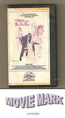 THE MAN FROM S.E.X. 1980 (Catalina Home Video) James Bond 007 spoof! vhs No DVD!