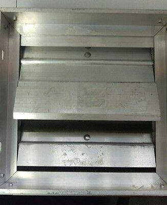 """Extruded Aluminum Backdraft Damper by Cesco Products - 7 3/4"""""""