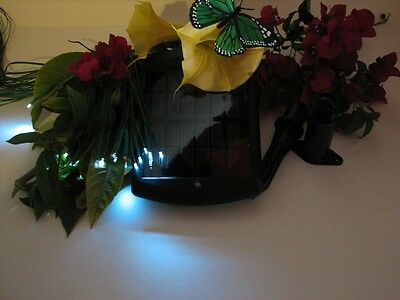 Solar Electronic Fire Flies, Medwos Green light effects for Gardens, RV's, boats