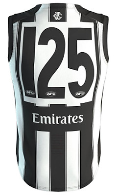 Collingwood Magpies 2017 125th Anniversary Guernsey Sizes S - 3XL Available AFL