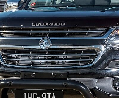 MY17 Holden Colorado New Genuine Bonnet Protector Smoked