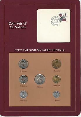 Coin Sets of All Nations - Czechoslovakia