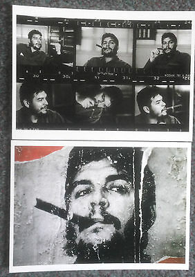 Lot Of 2 Modern Reproduction Postcards Of Che Guevara