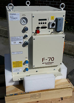 Sumitomo Cryogenics F-70 Helium Compressor 268073A1 NEW CONDITION  2015, F-70L