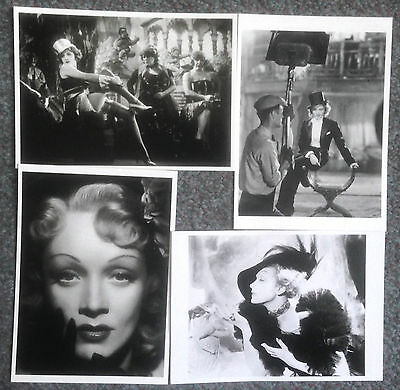 Lot Of 4 Modern Reproduction Postcards Of Marlene Dietrich