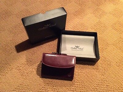 Golden Head Ladies French Coin Purse Wallet