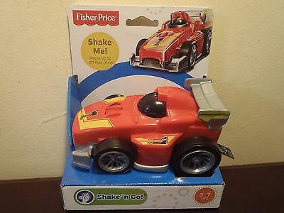 Fisher Price Shake 'n Go Race Car # 1(Races Up To 20 Ft.) New
