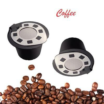 Refillable Reusable Coffee Capsules Pod For Nespresso Stainless Steel Filters