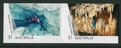 CAVES 2017 - MINT EX-BOOKLET $1 SELF-ADHESIVES Config B (G129)