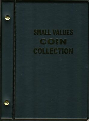 VST Aussie 1c, 2c, 5c and 10c Coin Album 1966 to 2016 - Black Cover FREE POSTAGE