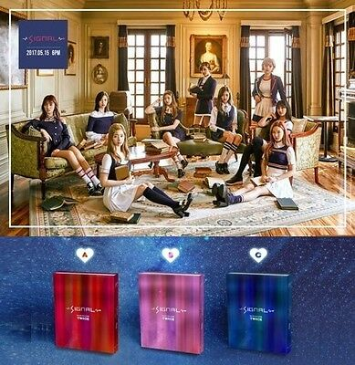 TWICE SIGNAL 4th Mini Album ABC Ver CD+Photocard+Gift+Tracking Factory Sealed