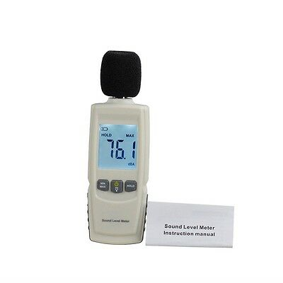 Test Technologies LCD Digital Sound Noise Level Describe Meter 30-130dBA AUOJ