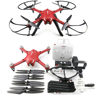MJX B3 Bugs 3 RC Quadcoptère Drone RTF 2.4GHz 4CH Action Caméra Support Two-way