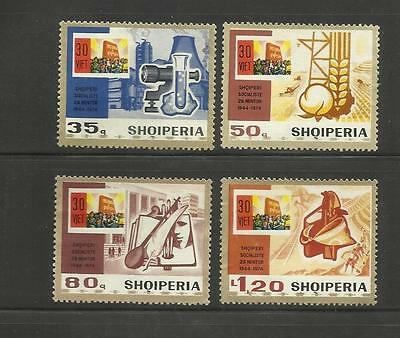 Albania Shqiperia ~ 1973-75 Small Group Modern Issues (Mnh)