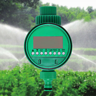 Auto Electric Garden Water Solenoid Valve Irrigation Timer Sprinkler Control NEW