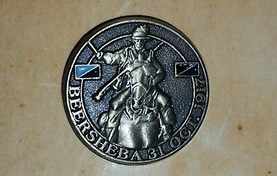 Light Horse Charge At Beersheba Centenary Lapel Pin 1917-2017 #2  Mint