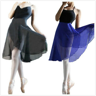 Adult Ladies Women Fashion Sheer Wrap Skirt Ballet Skirt Ballet Dance Clothes