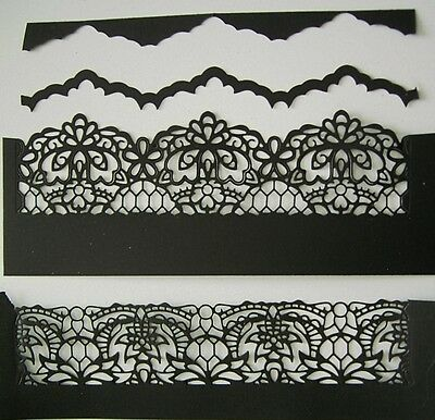 Large Border BRODERIE VENETIAN DIE D859 - Tattered Lace