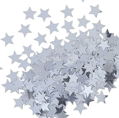 New 1000pc Star Shape Confetti Table Scatter Wedding Anniversary Decoration CA