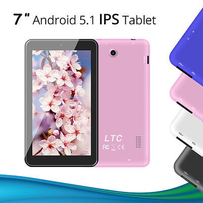 Popolare! 7 pollici Android 5.1 dual camera quad core IPS WiFi Pad / Tablet / PC