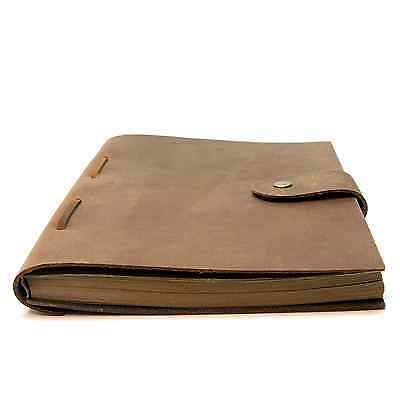 The Best Handmade Leather Cover Journal Notebook for Men Women Diary - Vintage R