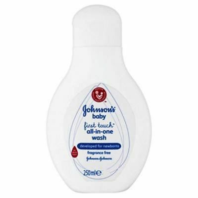 Johnsons Baby First Touch All In One Wash - 250ml