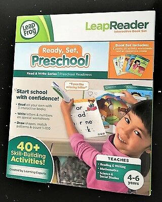 LeapFrog LeapReader Read and Write Activity Set Ages 4+ New Toy Education School