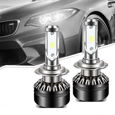 2x 9005 HB3+Decoder Canbus  8000LM LED Headlight Bulb Kit High Power pure white