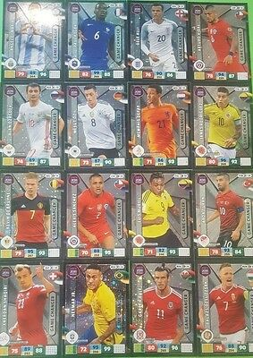 "Panini Road to Russia 2018 Adrenalyn Trading Cards ""Game Changer"" zum aussuchen"