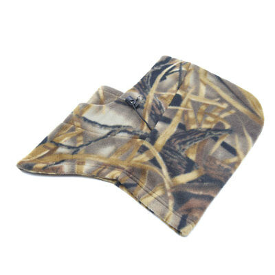 Camouflage Pattern Windproof Face Mask Cap Neck Protector for Motorcycle Cycling