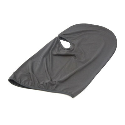 Dark Gray Polyester Motorcycle Cycling Dustproof Face Mask Cap Neck Protector