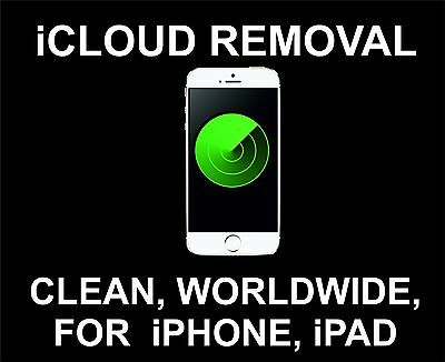 iCloud Unlock, Remove Service: iPhone And iPad All Models: Worldwide Clean IMEI
