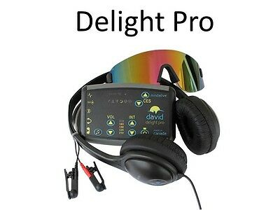 Mind Alive DAVID Delight Pro Light Therapy Sound Machine with Multi-Color Eyeset