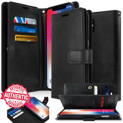 For APPLE iPhone 7 Plus / 6s /SE wallet leather Book Flip Card Rugged Case Cover