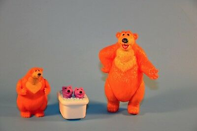 Lot BEAR IN THE BLUE HOUSE Pip Pop Otters Preschool Figures toys