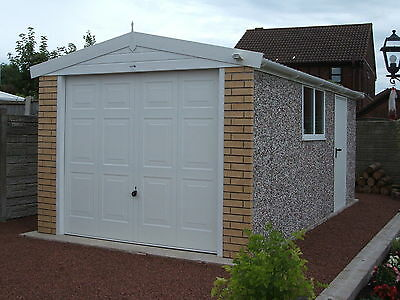 Apex Royale Garage Concrete Base Included And Delivery And Fitting