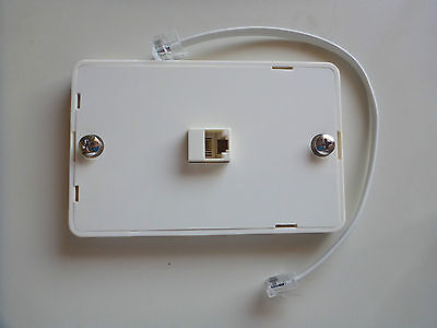 Wall Mounting Telephone Socket for Telstra Optus loop a line buttinski test sets